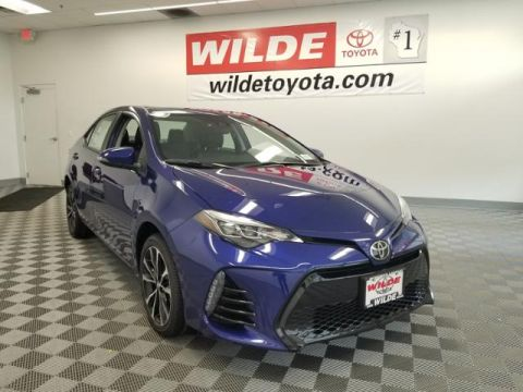 New 2018 Toyota Corolla SE - CVT 4dr Car