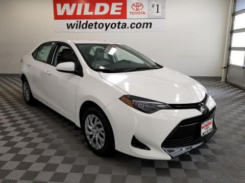 New 2018 Toyota Corolla LE CVT 4dr Car