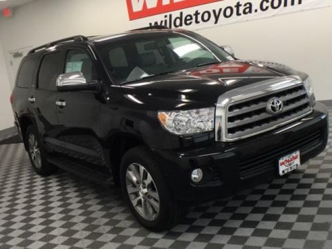 New 2017 Toyota Sequoia Limited Sport Utility 4WD