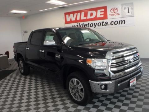 New 2017 Toyota Tundra 4WD 1794 Edition Crewmax FFV Double Cab 4WD