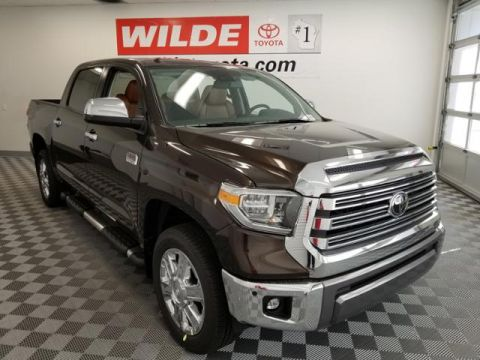 New 2018 Toyota Tundra 4WD 1794 Edition CrewMax 5.5' Bed 5.7L Double Cab 4WD