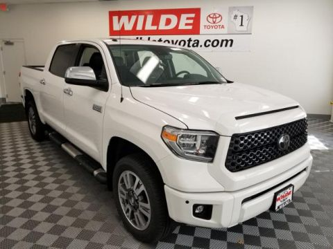 New 2018 Toyota Tundra 4WD Platinum CrewMax 5.5' Bed 5.7L FFV Double Cab 4WD