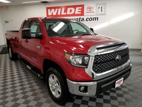 New 2018 Toyota Tundra 4WD SR5 Double Cab 8.1' Bed 5.7L FFV Double Cab 4WD