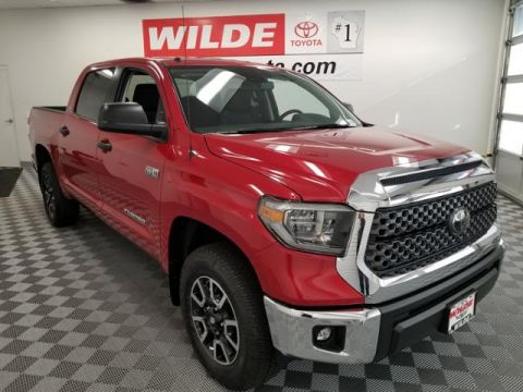 New 2018 Toyota Tundra 4WD SR5 CrewMax 5.5' Bed 5.7L FFV Double Cab 4WD