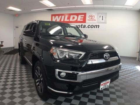 New 2017 Toyota 4Runner Limited 4WD Sport Utility 4WD