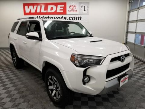 New 2018 Toyota 4Runner TRD Off Road Premium 4WD Sport Utility With Navigation & 4WD