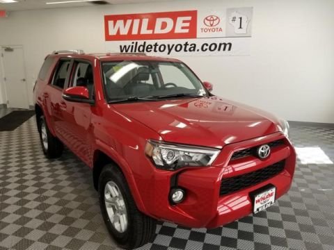 New 2018 Toyota 4Runner SR5 Premium 4WD Sport Utility With Navigation & 4WD