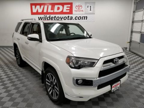 New 2018 Toyota 4Runner Limited 4WD Sport Utility 4WD