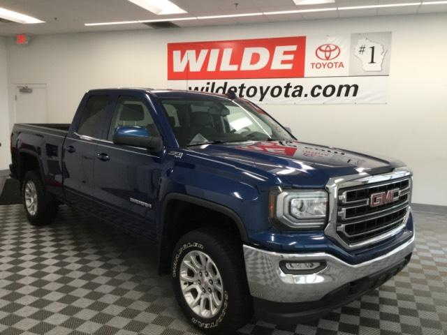 Pre-Owned 2016 GMC Sierra 1500 4WD Double Cab 143.5 SLE