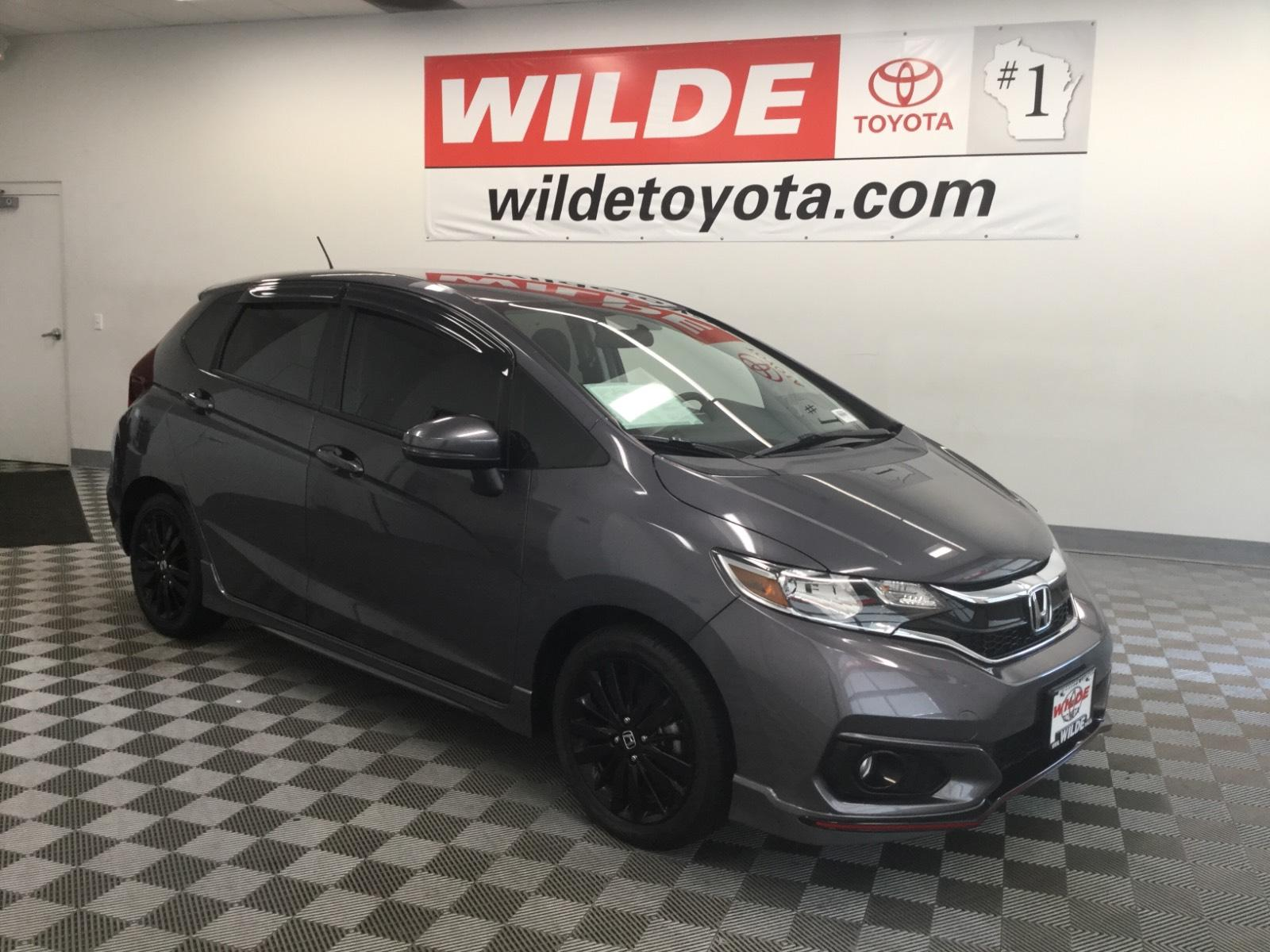Pre-Owned 2018 Honda Fit Sport Manual