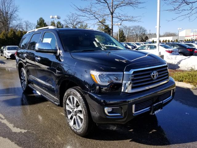 New 2018 Toyota Sequoia Limited 4wd Sport Utility In West Allis