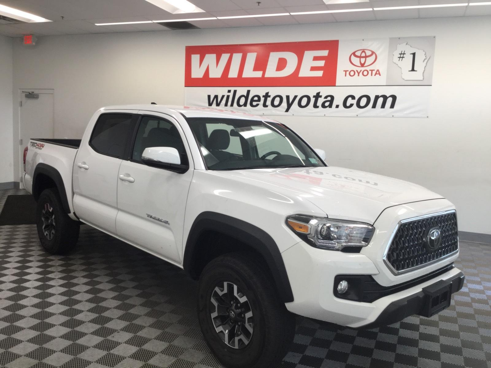 Pre-Owned 2019 Toyota Tacoma TRD Off Road Double Cab 5' Bed V6 A
