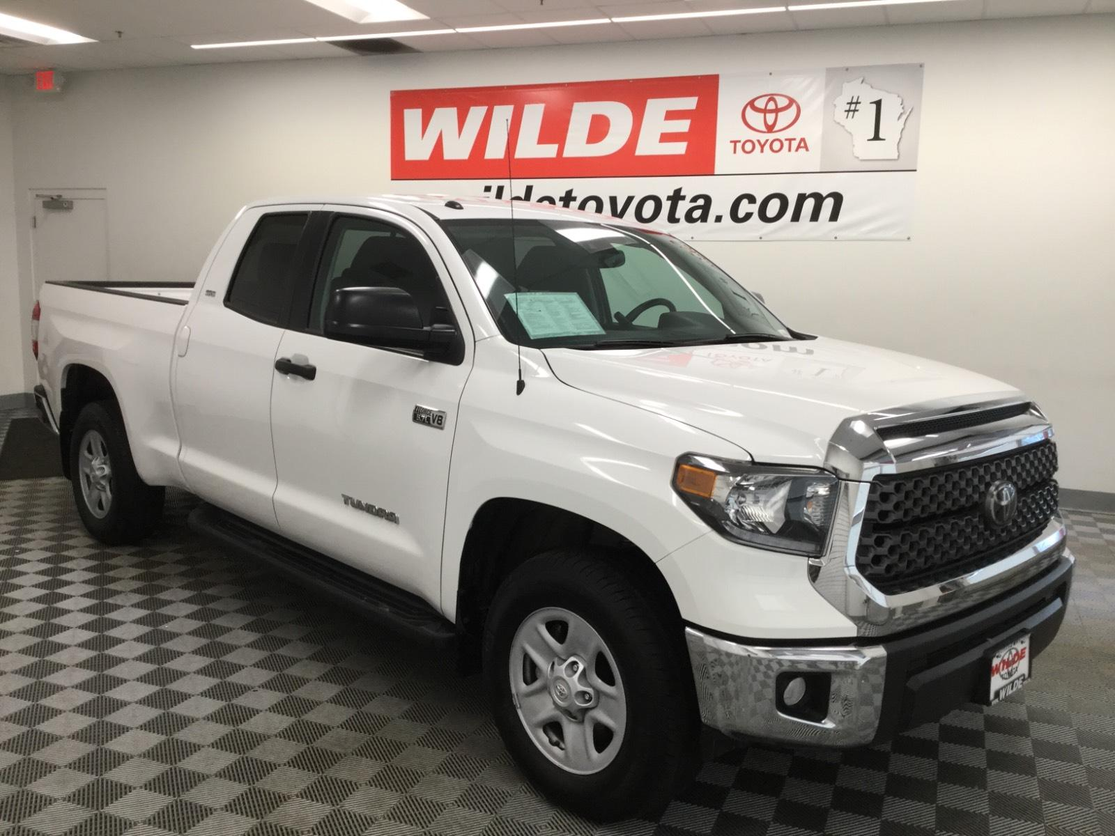 Pre-Owned 2019 Toyota Tundra SR5 Double Cab 6.5' Bed 5.7L FFV