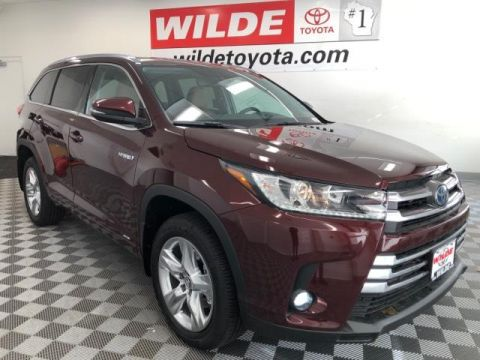 New 2019 Toyota Highlander Hybrid Limited V6 AWD