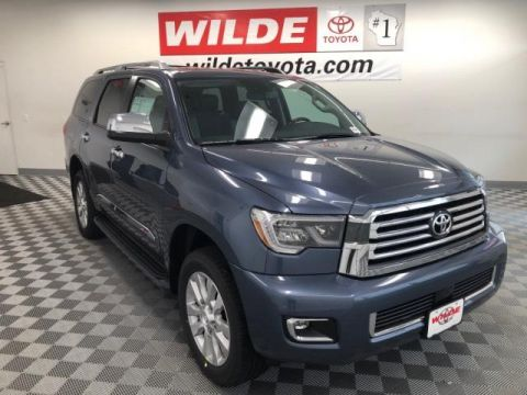 New 2018 Toyota Sequoia Platinum 4WD