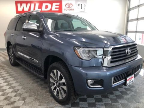 New 2019 Toyota Sequoia Limited 4WD