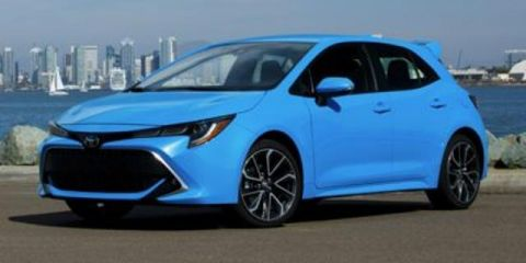 Pre-Owned 2019 Toyota Corolla Hatchback SE Manual